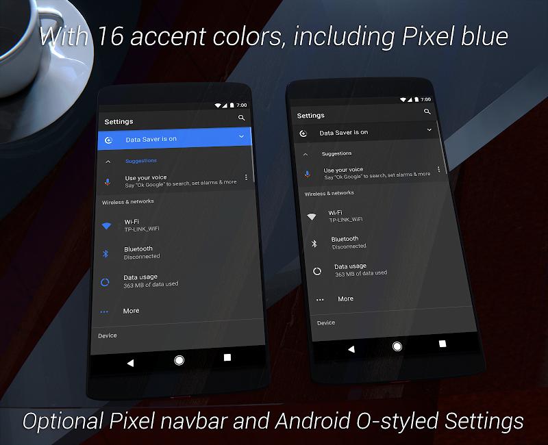 Substratum Dark Theme +Samsung,Oreo,Pixel [aospUI] Screenshot 1