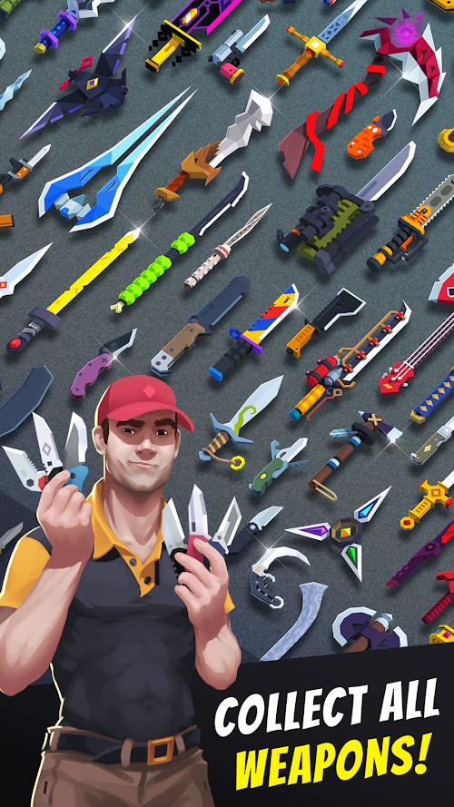 Screenshot 2 Flippy Knife 1.8.8.2 APK MOD