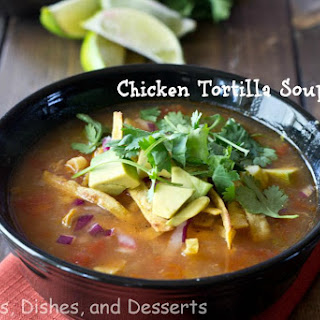 Chicken Tortilla Soup #SundaySupper