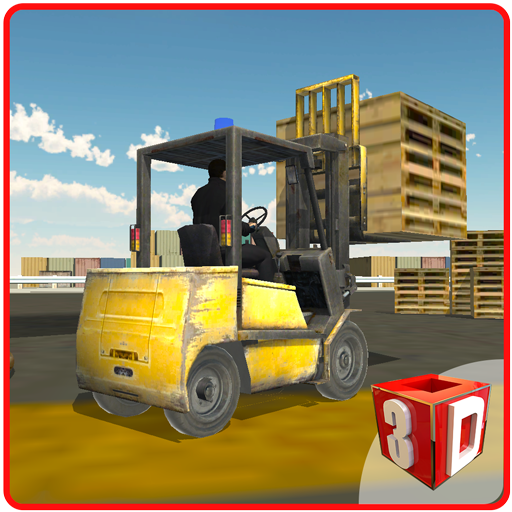 Airport Cargo Fork Lifter Sim file APK Free for PC, smart TV Download