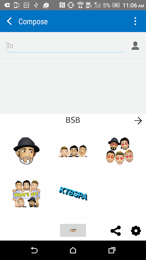 BSBmoji by Backstreet Boys- screenshot