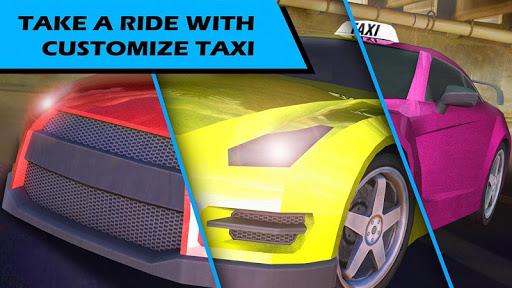 Real Taxi parking 3d Simulator  screenshots 1