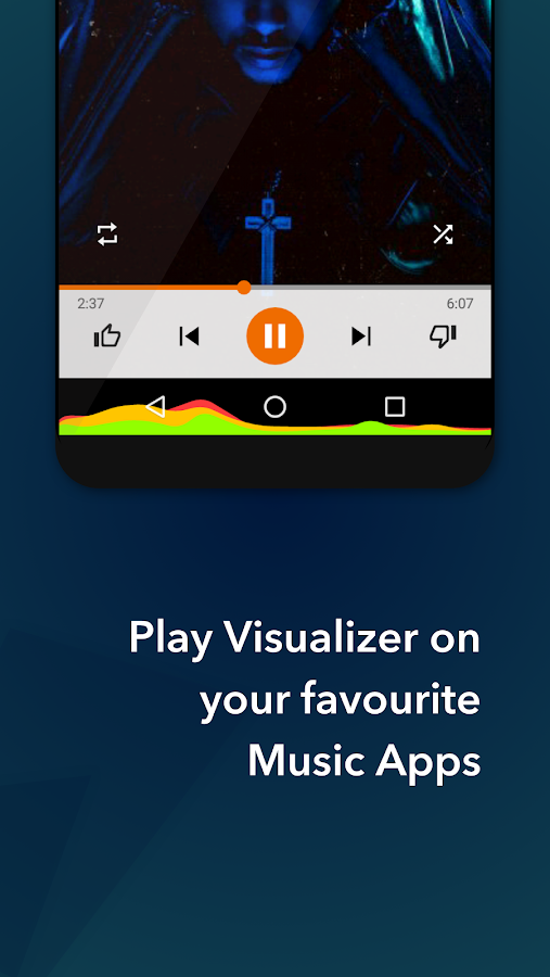 Muviz - Navbar Music Visualizer: captura de tela