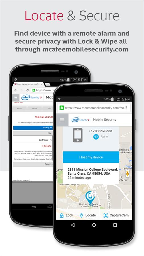 McAfee Mobile Security- screenshot