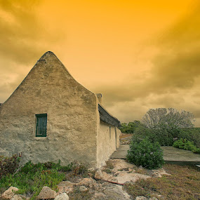 fisherman cottage 1 by Randall Langenhoven - Buildings & Architecture Homes ( yesteryear, building, vintage, cottage, architecture, design )