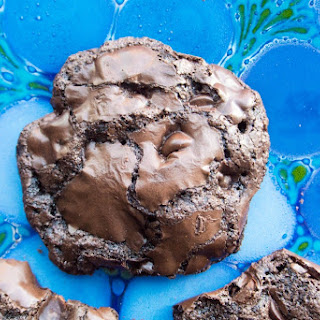 Dark Chocolate Flourless Cookies Recipe