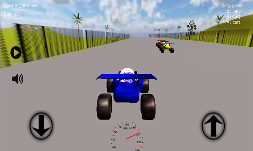 Super Racing Car 3D