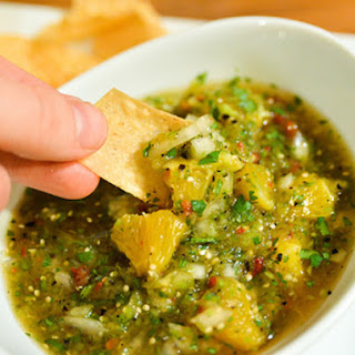 Orange-Tomatillo Salsa
