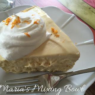 Orange Creamsicle Pie.