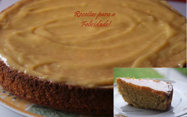 Orange Cake with Persimmon Curd Recipe