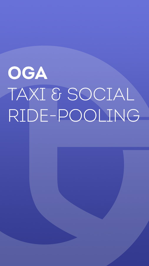 Oga - taxi & ride-pooling- screenshot