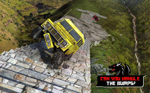 Cruiser Car Stunts: Dragon Road Driving Simulator apktram screenshots 9