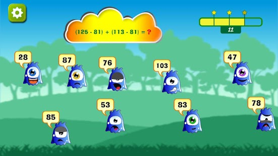 Math+- addition & subtraction- screenshot thumbnail