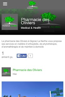 Download Pharmacie Des Oliviers For PC Windows and Mac apk screenshot 1