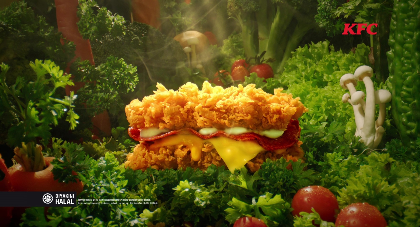 KFC Malaysia is Bringing Back The Zinger Double Down Starting 27 August For a Limited Time Only - WORLD OF BUZZ 1