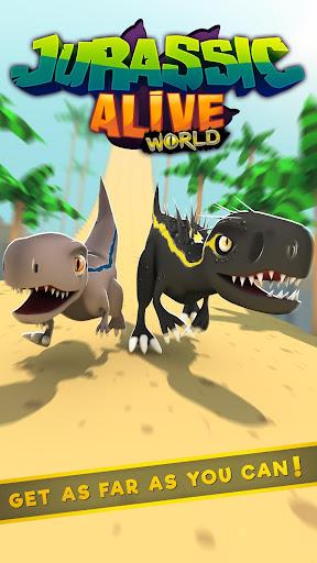 Jurassic Alive: World T-Rex Dinosaur Game screenshot 9