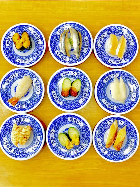くら寿司 藏壽司好吃又好玩 / 扭蛋超醋咪 / 我的迴轉壽司新寵兒 / 松江南京 / 日本