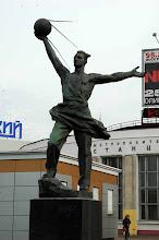 Photo: Sputnik memorial - Moscow, Russia
