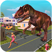 Monster Dinosaur Simulator: City Rampage Android APK Download Free By Endgames