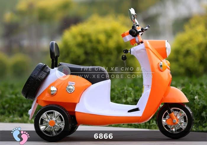 Xe máy điện cho bé Mio 6866 7