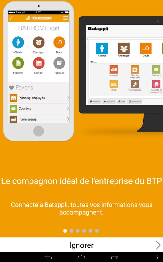 iBatappli- screenshot
