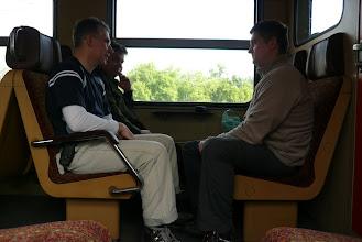 Photo: vonattal megyünk Kismarosig