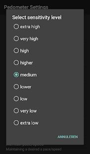 App Pedometer - caloriecounter APK for Windows Phone
