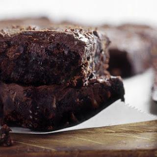 Vegan Dairy-Free Banana Chocolate Brownies.