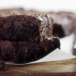 Vegan Dairy-Free Banana Chocolate Brownies.