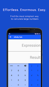 Infinity Calc - Calculator that can count infinity Apk Download Free for PC, smart TV