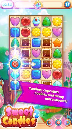 Sweet Candies 2 - Cookie Crush Candy Match 3  screenshots 1