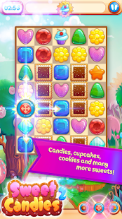 Sweet Candies 2 - Cookie Crush Match 3 Puzzle - náhled