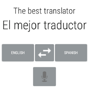 Spanish English Translator- screenshot thumbnail