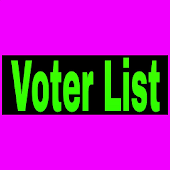Current Voter List of India