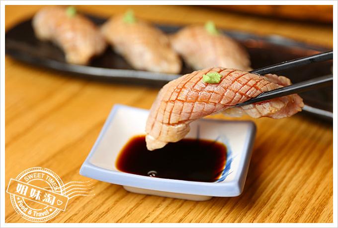 大手町日本料理炙燒黑鮪魚腹握壽司3