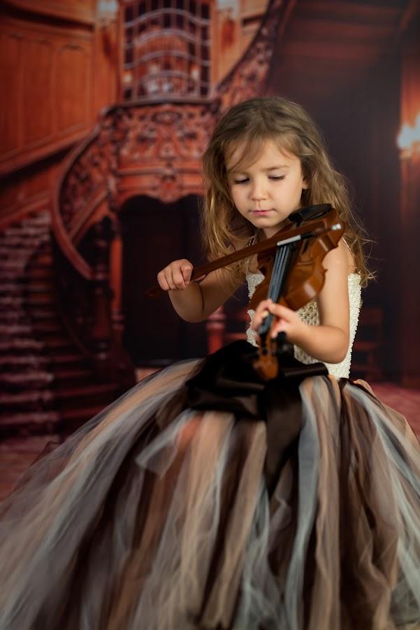 Silent Music by Lazarina Karaivanova - Babies & Children Child Portraits