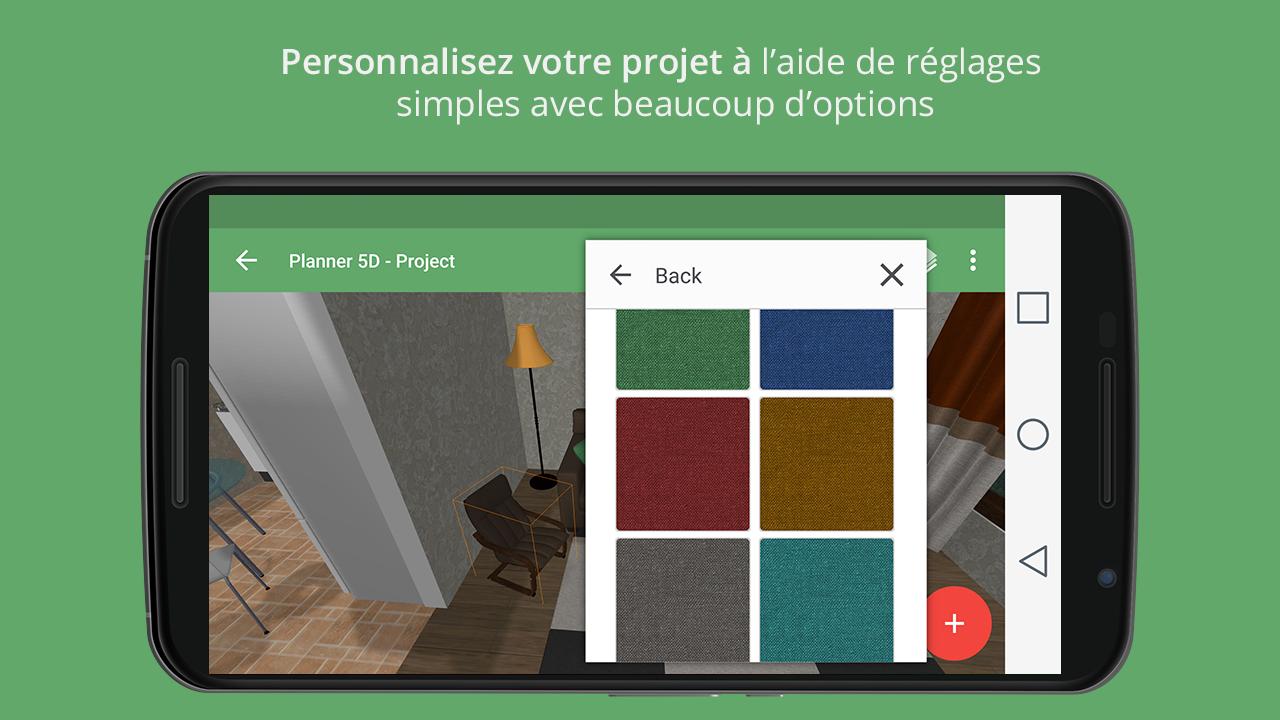 Planner 5d design d 39 int rieur applications android sur for Planner 5d design d interni