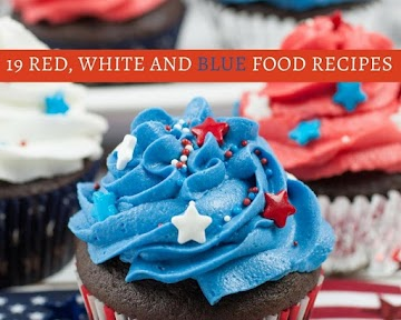 19 Red, White and Blue Food Recipes