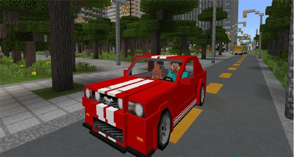 Sport Ford Mustang Mod for MCPE - náhled