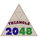 Triangle 2048 icon
