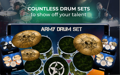 Drums Pro 2020 - The Complete Simulator Drum Kit 2.2.2 screenshots 9