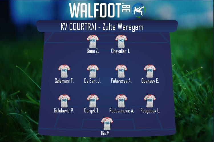 KV Courtrai (KV Courtrai - Zulte Waregem)