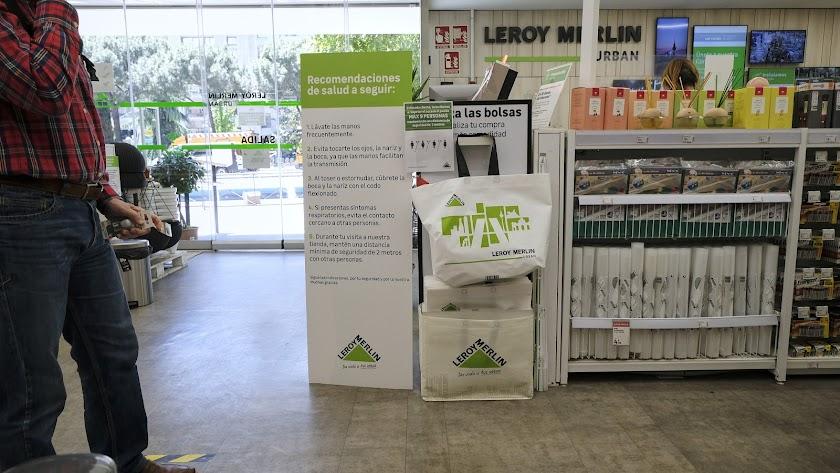 Leroy Merlin quiere reforzar sus tiendas en España este verano.