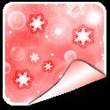 Christmas Snow Photo Stickers icon