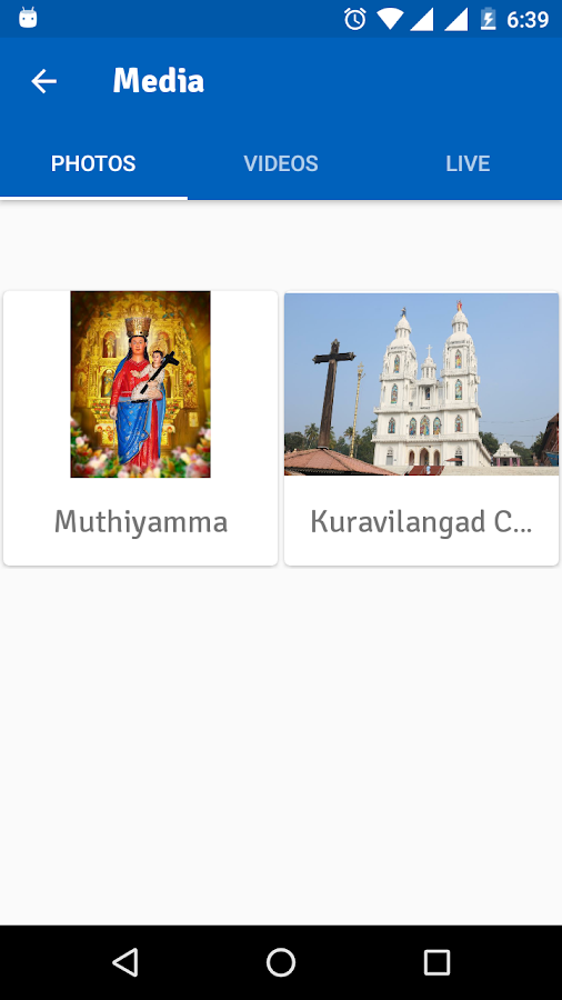 Kuravilangad Church- screenshot