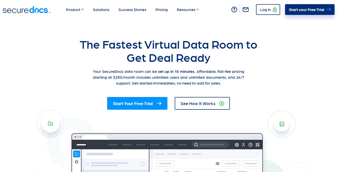 Securedocs is one of the virtual data room providers