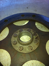 Photo: Better view of the clutch friction plate stripped splines.