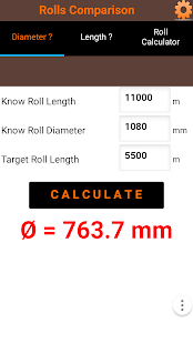 Roll diameter calculator android apps on google play roll diameter calculator screenshot thumbnail sciox Image collections