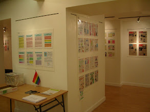Photo: View from the Top Exhibition - NRH's table with questionnaires