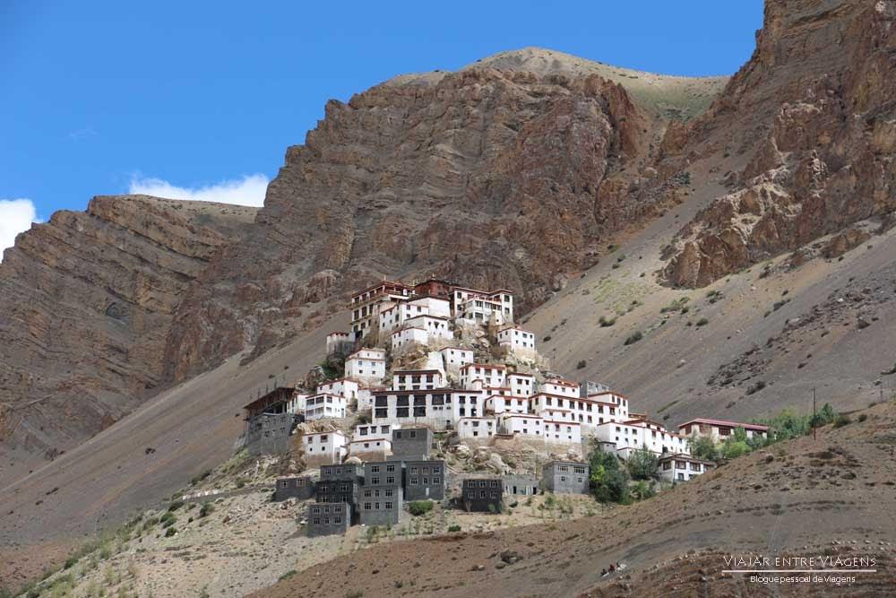 Explorando o mosteiro de Key e aldeias tibetanas próximo de Kaza | Índia